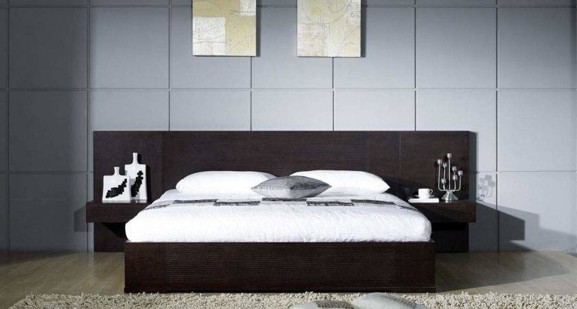 Stylish Wood Elite Platform Bed Boston Massachusetts Epic