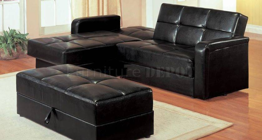Superb Small Black Sofa Sectional Sofas