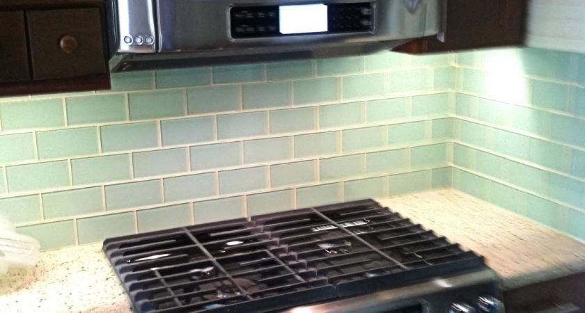 Surf Glass Subway Tile Outlet