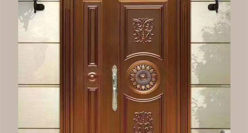Sus Residential Safety Stainless Steel Door