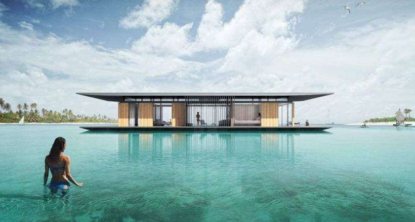 Sustainable Floating House Concept Delivers Magic Water