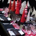 Table Decorations Christmas Party Photograph