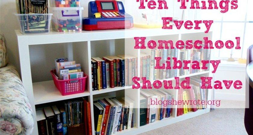 Ten Things Every Homeschool Library Should Have Blog