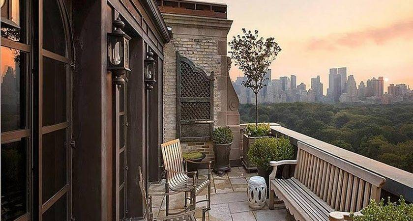 Terrace New York Cities Central Parks