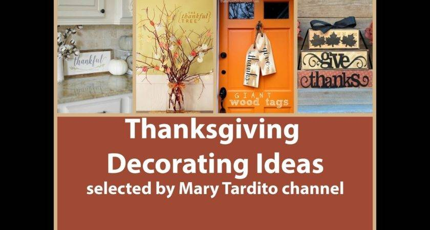 Thanksgiving Decorating Ideas Fall Decor Inspo Youtube