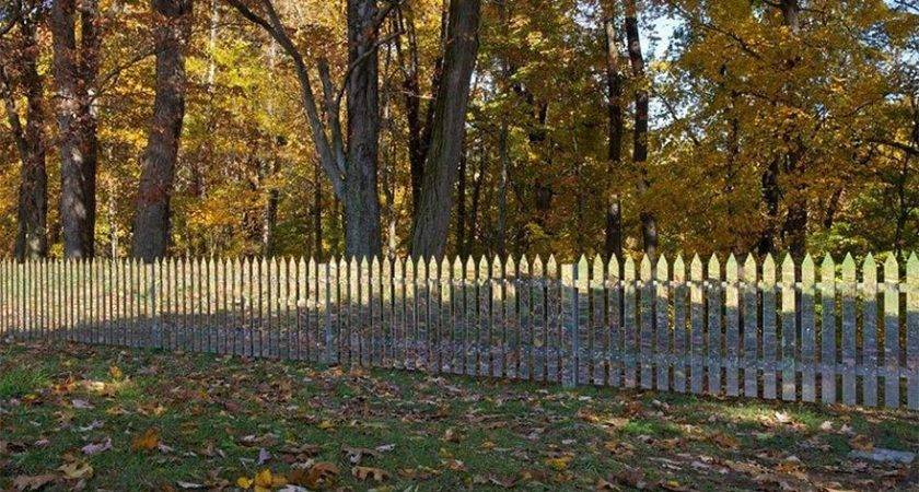 These Mirrored Fences Camouflage Themselves According