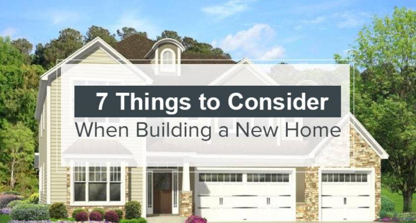 Things Consider Building New Home Interior
