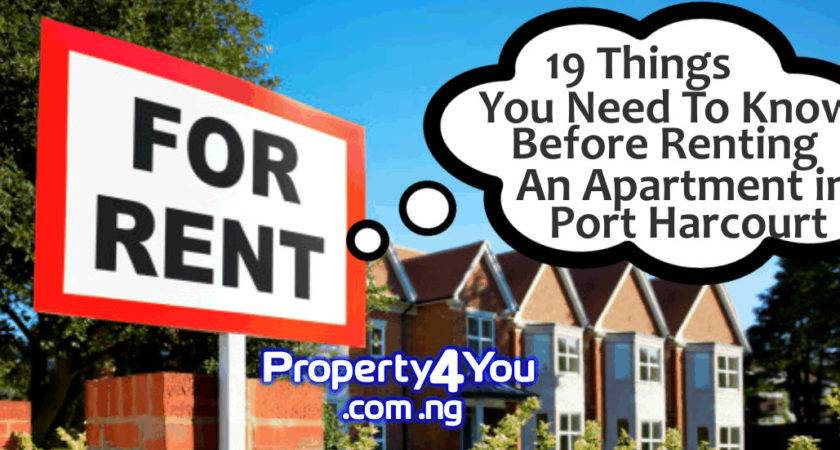Things Need Know Before Renting House Port