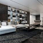 Three Luxurious Apartments Dark Modern Interiors