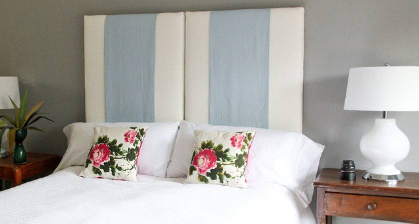 Three One Upholstered Hanging Headboard Eclectic