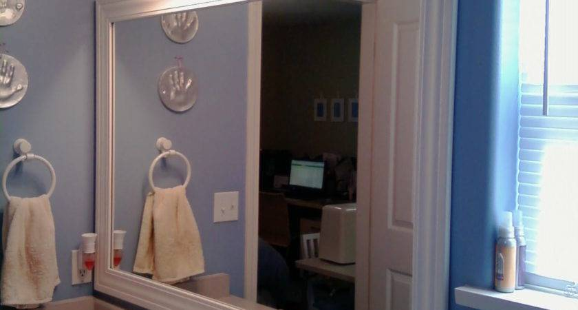 Thrifty House Framed Bathroom Mirror