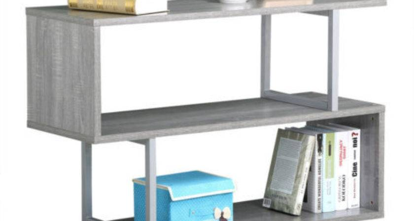 Tiers Sofa Table Bookcase Showcase Display