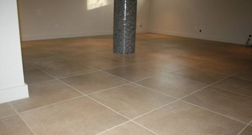 Tile Basement Floor
