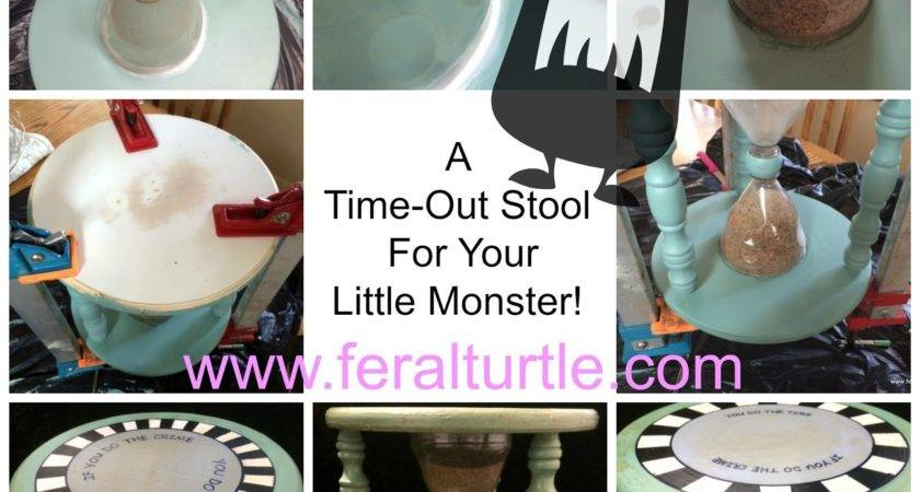 Time Out Stool Sand Timer Home Design