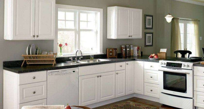 Timeless Kitchen Idea Antique White Cabinets