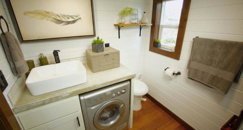 Tiny House Bathrooms Packed Style Hgtv