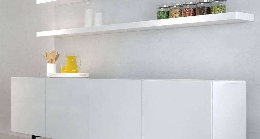 Tips Decorate Room White Floating Shelves