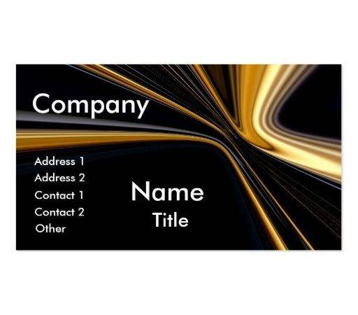 Top Award Gold Black Business Cards Zazzle