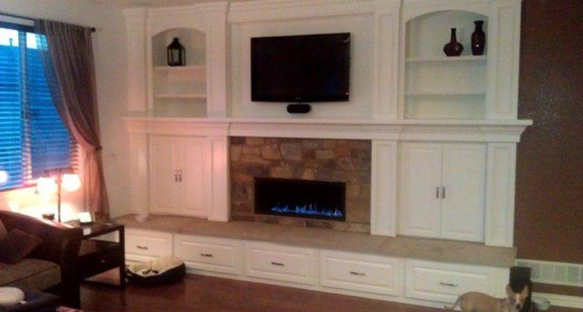 Town Country Fireplace Built Ins Traditional