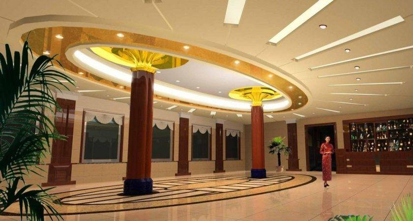 Traditional Chinese Hotel Lobby Interior Design House
