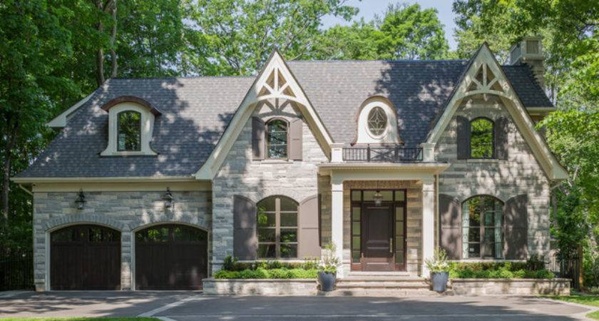 Transitional Elegance Traditional Exterior Toronto