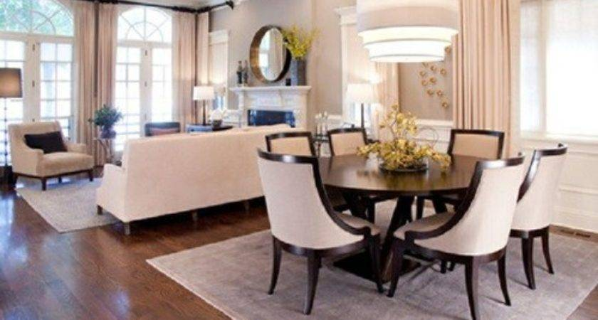 Tricks Decorate Your Living Room Dining Combo