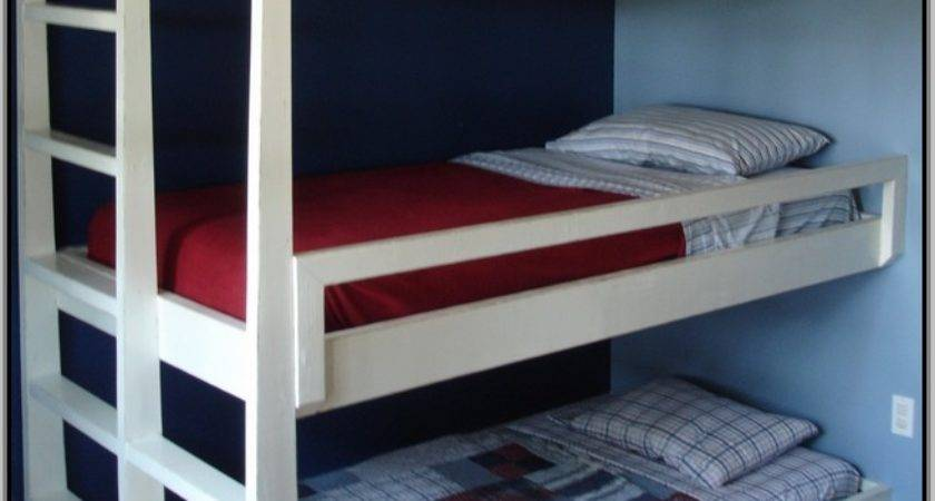 Triple Bunk Beds Small Rooms Home Design Ideas