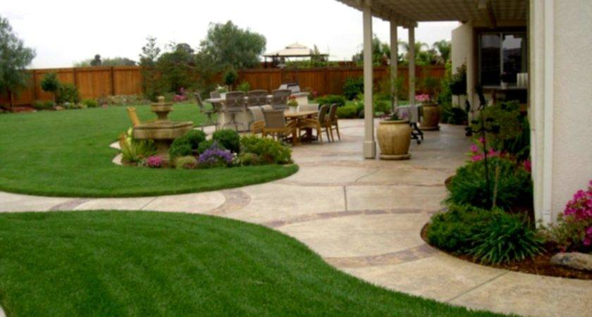 Triyae Simple Backyard Design Ideas Various