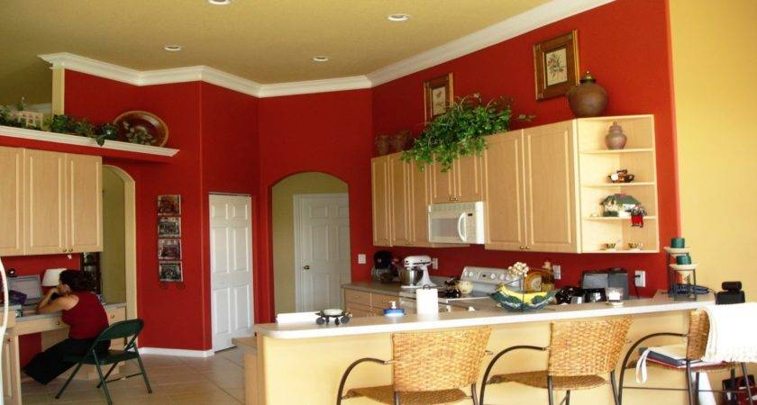 Tropical Dining Wall Color New Colors Kitchen Walls
