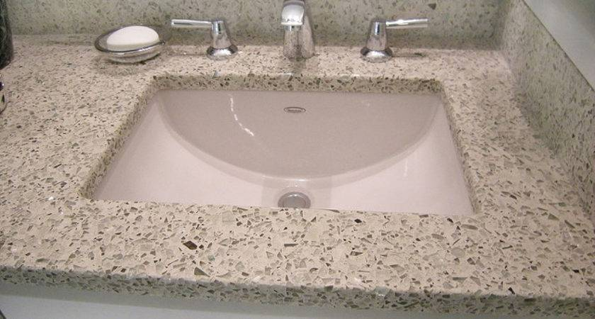 Try Recycled Glass Instead Granite Countertops Flickr