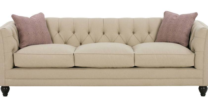 Tufted Back Fabric Sofa Collection Club Furniture