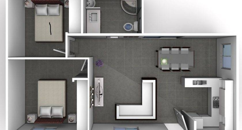 Two Bedroom Designs Smart Choice