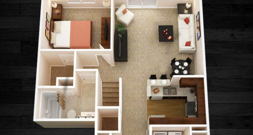 Two Bedroom Flats Home Design