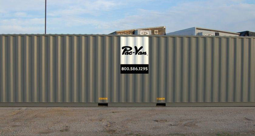 Types Shipping Containers Container