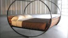 Unique Bed Frame Round Creative Luxury