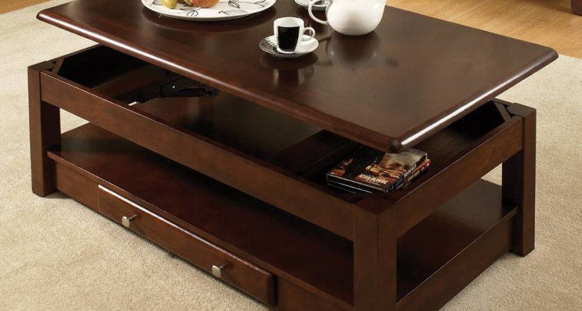 Unique Coffee Tables Hidden Compartments