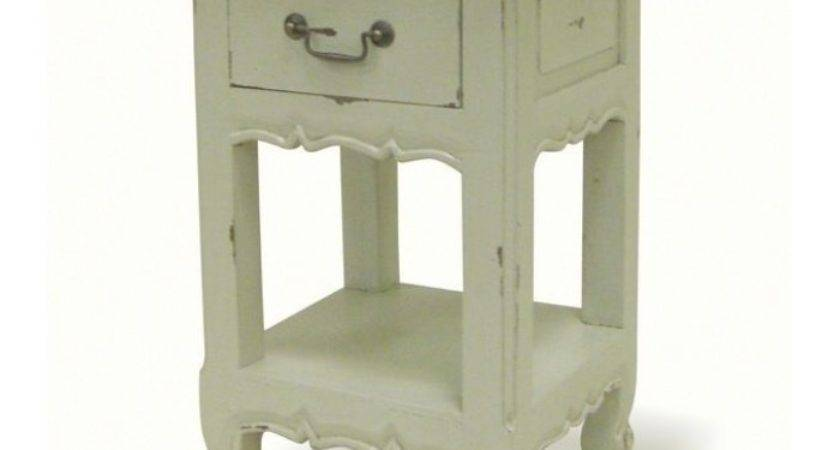 Unique Painted Bedside Tables French