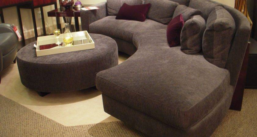 Unique Sectional Sofas Curved Sectionals Foter Thesofa