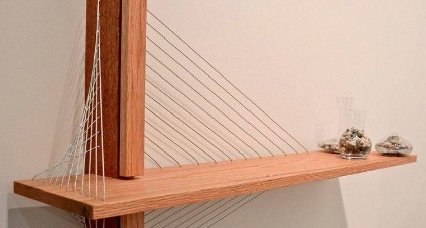 Unique Shelf Inspired Suspension Bridge