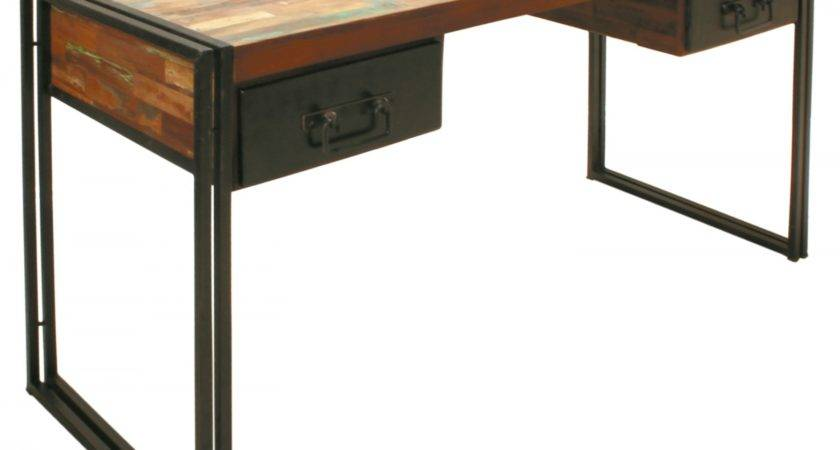 Unique Woodiron Industrial Computer Desk Designs