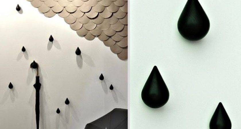 Unusual Wall Mounted Funky Coat Hooks Make