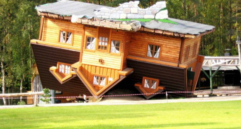 Upside Down House Szymbark Poland Atlas Obscura