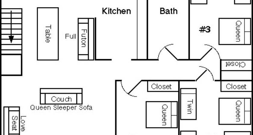 Upstairs Room Layout