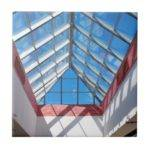 Upward Triangular Glass Roof Tile Zazzle