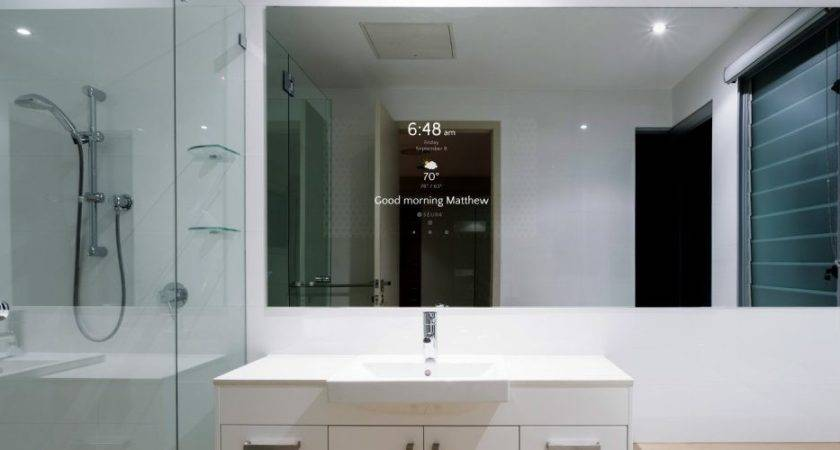 Ura Introduces Smart Bathroom Mirror Electronic House