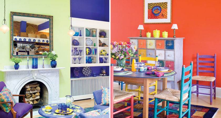 Using Primary Colors Decorate Cottages