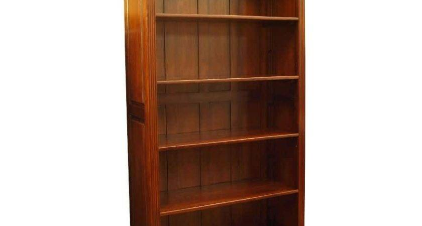 Victorian Open Bookcase Carved Corbels Akd Furniture
