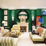 Vignette Design Decorating Green