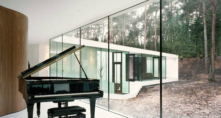 Villa Elegant Piano Wonderful Homes Floor