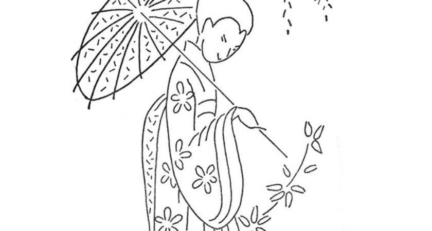 Vintage Japanese Embroidery Designs Quilter